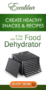 Purchase your Dehydrator!
